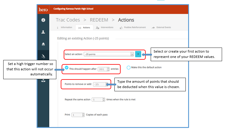 Hero - How to Create a Redeem Code With a Drop-Down Menu ...