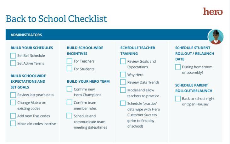 Back To School Trends 2020.2019 2020 Back To School Checklist Schoolmint Support
