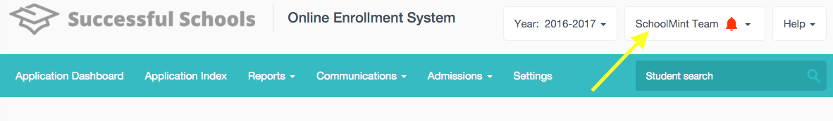 Changing your Admin Account Username or Password – SchoolMint