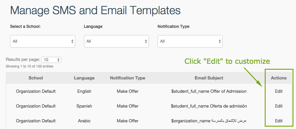 Automatic Notifications: Customizing Emails and Text